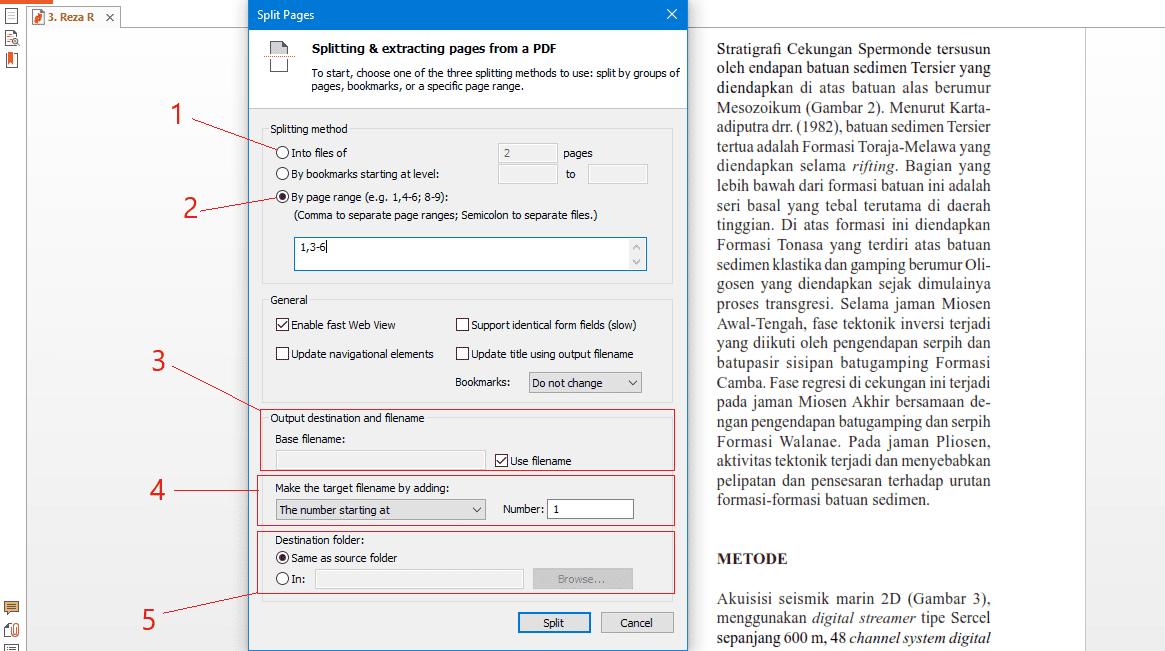 Cara split pdf offline dengan nitro pro 2