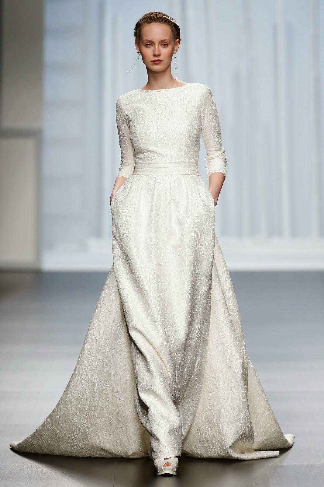 BODAS DE ALTA COSTURA: Los vestidos de novia con bolsillos son ...