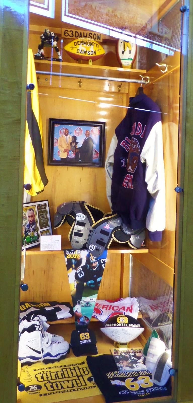 Dermontti Dawson Hall Of Fame Heinz Field