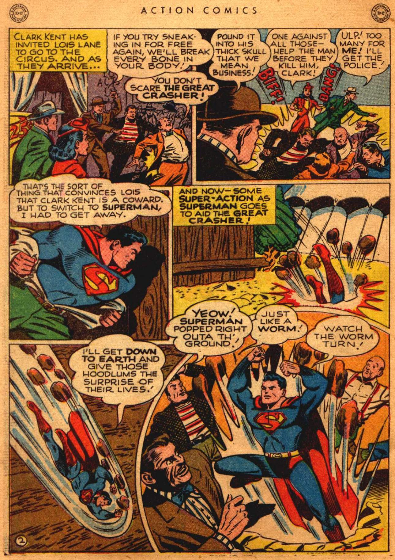 Read online Action Comics (1938) comic -  Issue #108 - 3