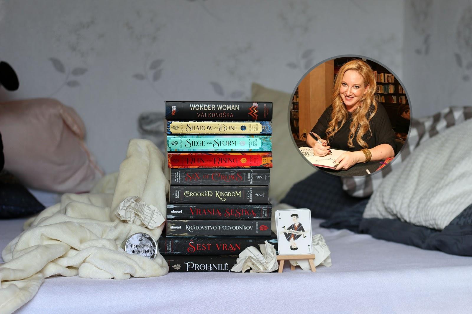 Leigh Bardugo ║ predstavenie autorky a jej kníh ║ Humbookfest 4. info