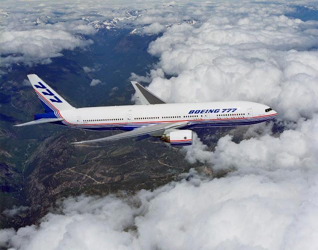 Boeing 777 ilk uçuş. - 12 Haziran 1994