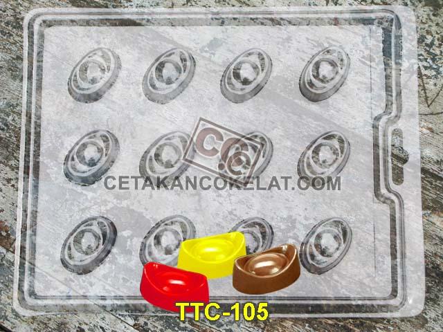 cetakan coklat cokelat SM105 mold mould uang cina chocolate #cetakancoklat