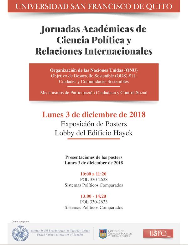 Jornadas Académicas de Ciencia Política y Relaciones Internacionales