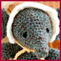 Elefante bebe amigurumi