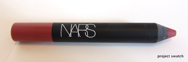 NARS Dolce Vita Velvet Matte Lip Pencil Review, Swatches, Photos