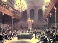 The House of Commons from The Microcosm of London (1808-10)