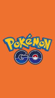 Wallpaper Pokemon GO Orange para celular Android e Iphone
