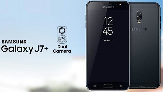 Samsung Galaxy J7+ dual camera