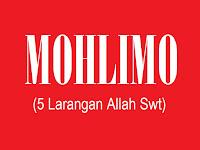 Definisi Molimo/Mohlimo Ajaran Sunan Ampel