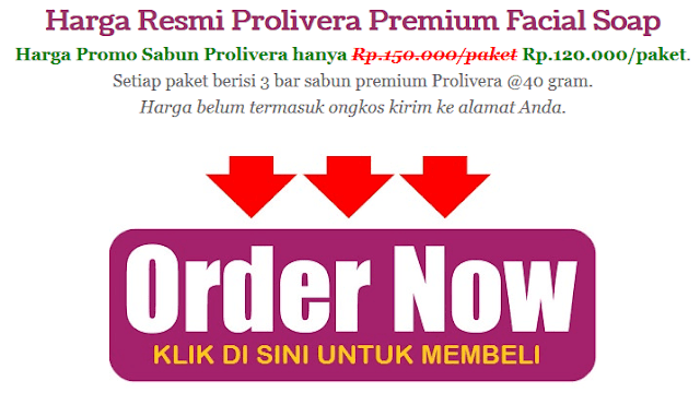 Prolivera Premium Facial Soap