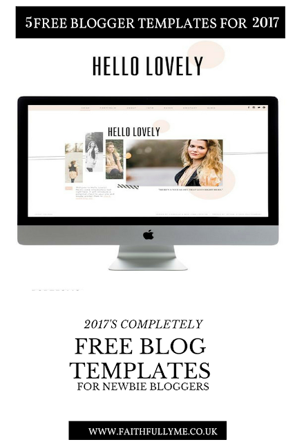 5 FREE BLOGGER TEMPLATES FOR NEWBIE BLOGGERS IN 2017