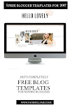 5 FREE BLOGGER TEMPLATES FOR NEWBIE BLOGGERS