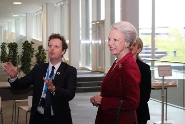 Danish Princess Benedikte visited UN City and UNICEF warehouse in Copenhagen
