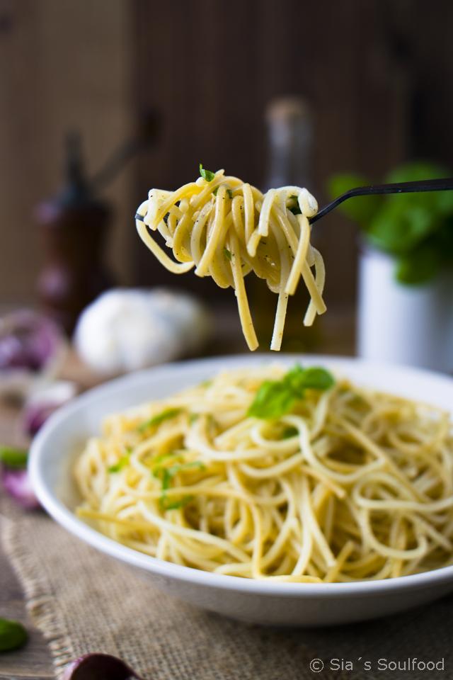 Knoblauch-Pasta