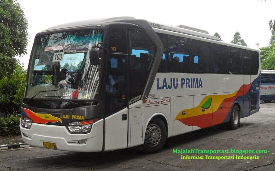 rute dan harga tiket bus laju prima jurusan Ponorogo, Madiun, Jogja, Wonogiri, Solo, Purwantoro