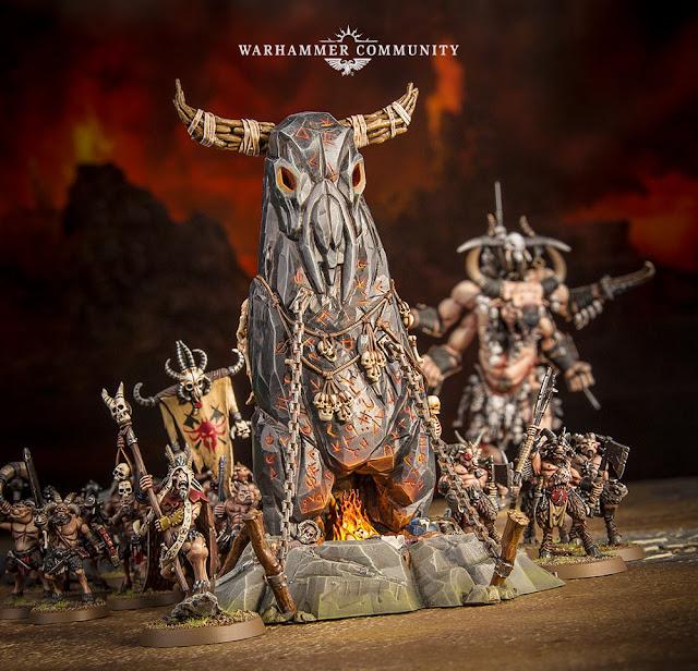 Piedra de la Manada Bestias del Caos