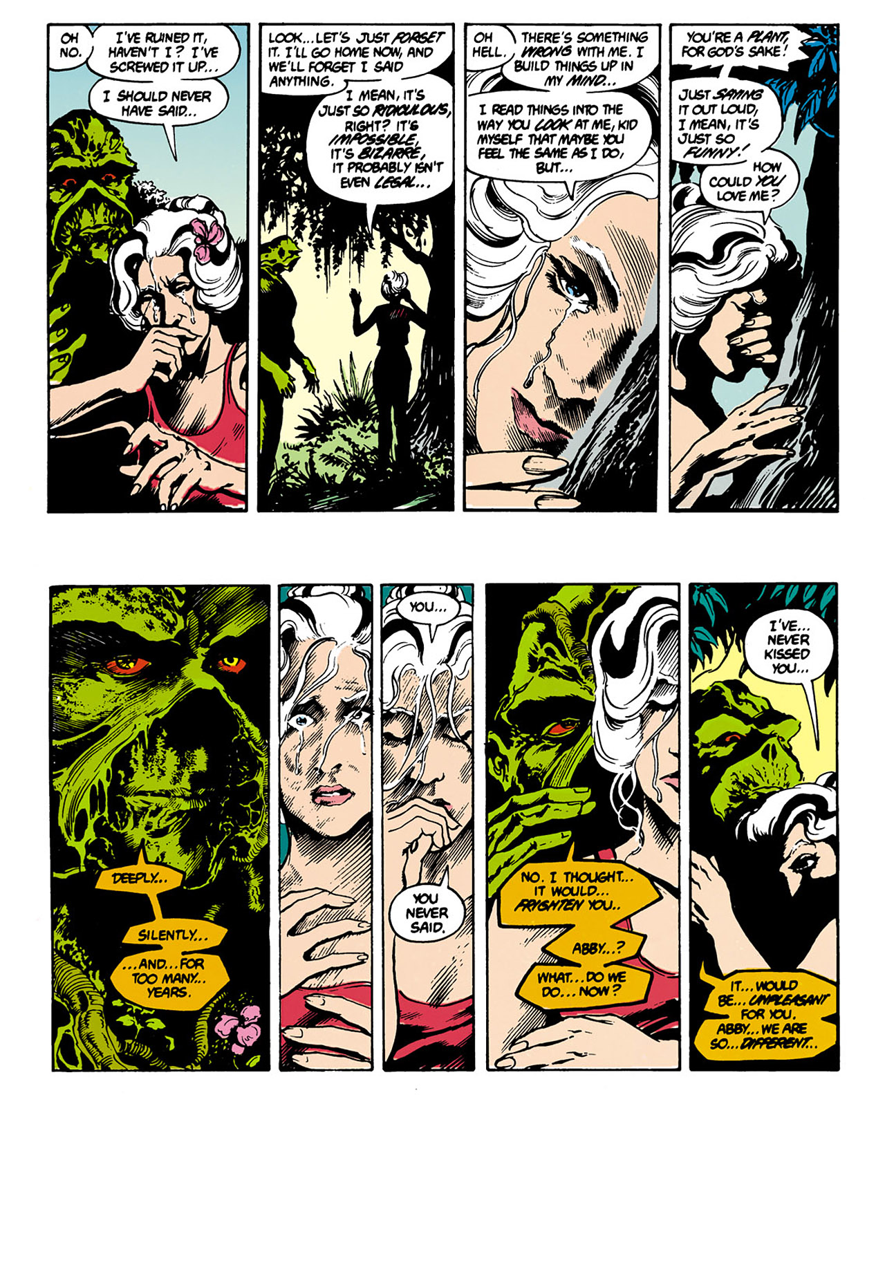Swamp Thing (1982) Issue #34 #42 - English 7