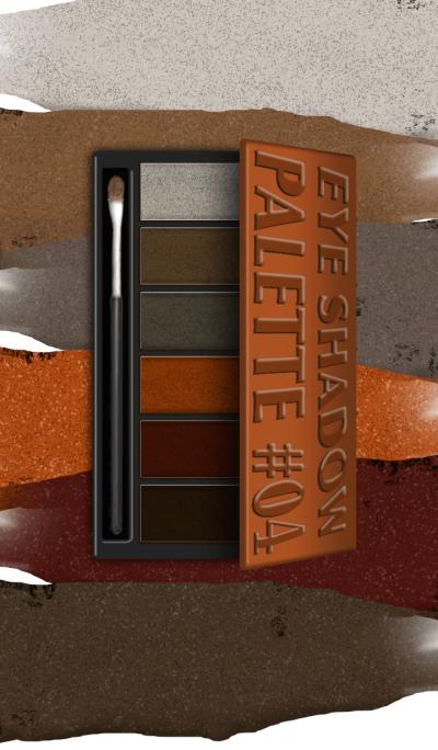 COSMETICS Eye Shadow Palette #04