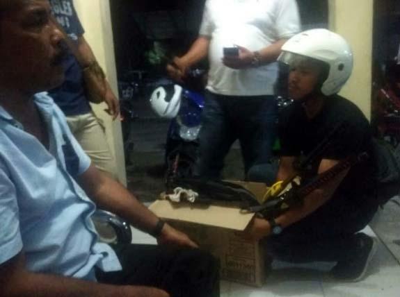 Teroris di Tanjungbalai-Asahan Bertambah jadi 9, Ada Bom Rakitan, 5 Pistol dan 3 Samurai