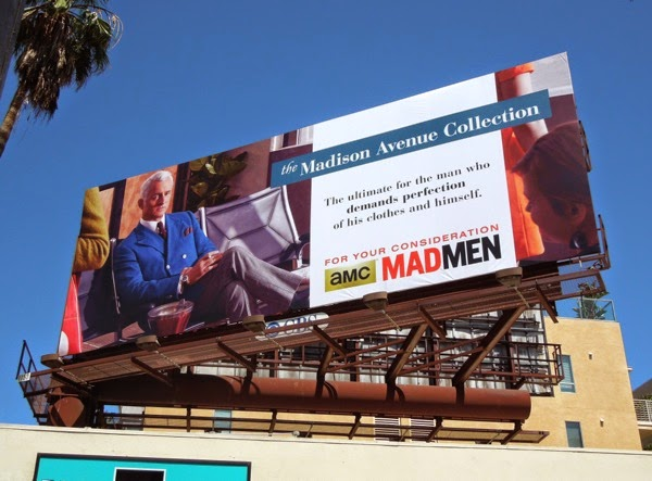 Roger Sterling Mad Men 2014 Emmy billboard