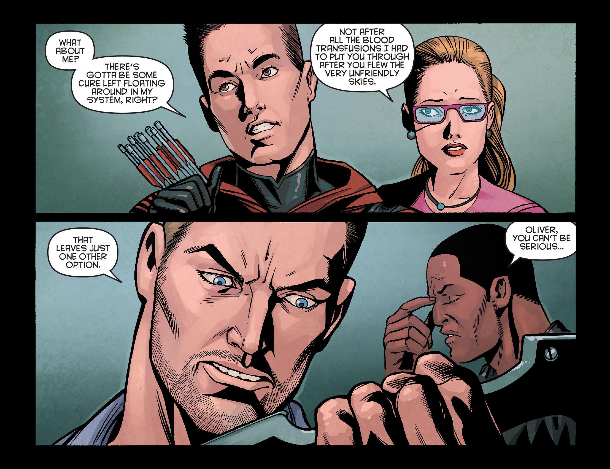 Read online Arrow: Season 2.5 [I] comic -  Issue #18 - 20