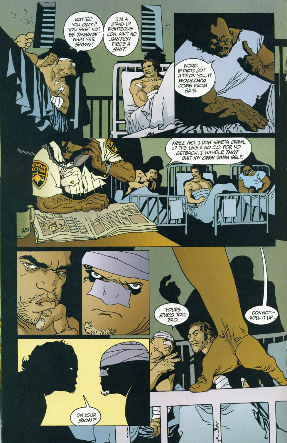 Read online 100 Bullets comic -  Issue #45 - 17