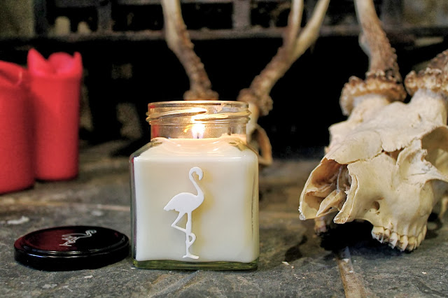Flamingo Candle SS14 Milk Bottles