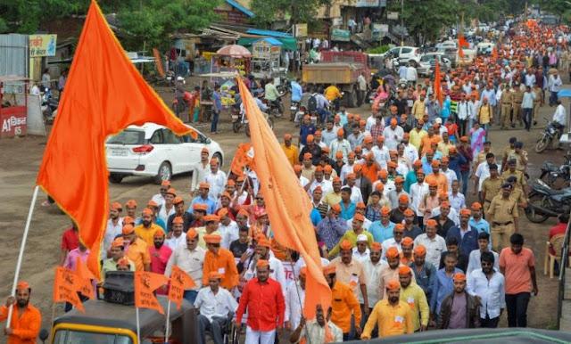 मराठा आरक्षण आंदोलन : उपद्रवियों के उत्पात से ठहरी मुंबई