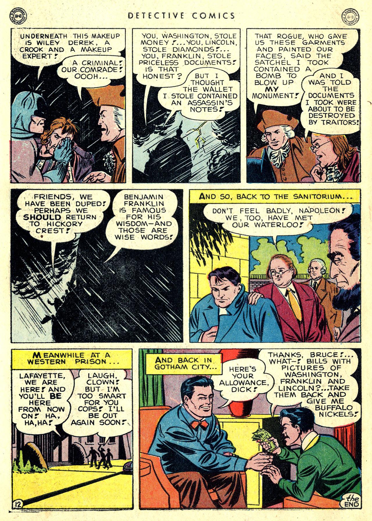 Read online Detective Comics (1937) comic -  Issue #119 - 14