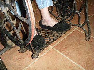 treadle machine - foot pedal