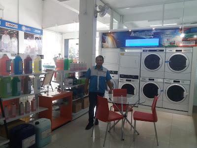 Kredit Mesin Laundry kiloan