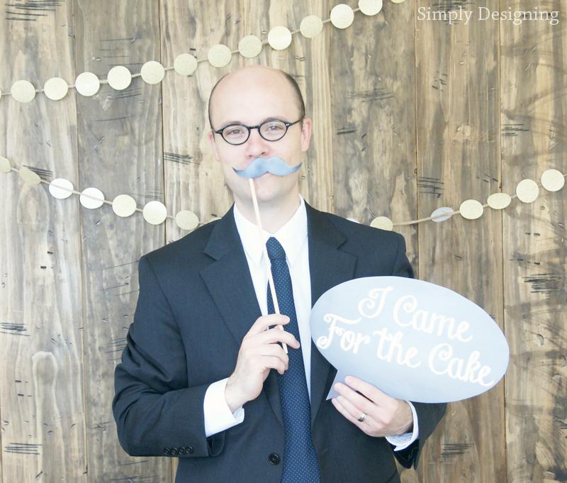 Rustic Glam Wedding Photo Booth   #wedding #shutterflywedding @shutterfly #photobooth #printable