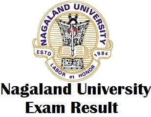 Nagaland University Degree Exam Results 2018