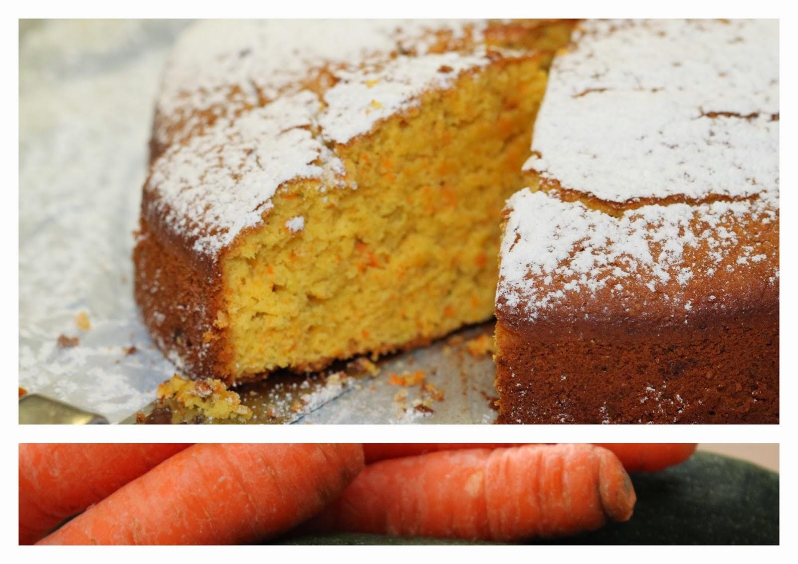 Gluck Gehabt Karotten Zucchini Kuchen Mit Susslupinenmehl