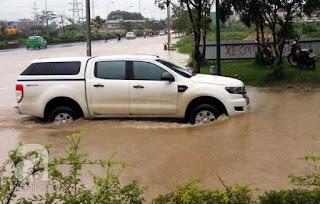 Bán tải lội nước an toàn
