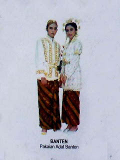 baju pengantin adat banten
