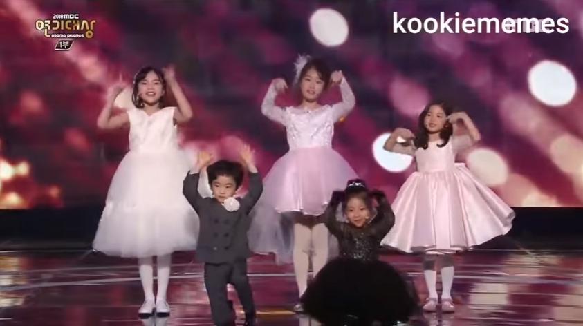MBC Drama Awards - Child Actors perform iKON - LOVE SCENARIO