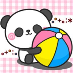 Little Panda Stickers non-non 1
