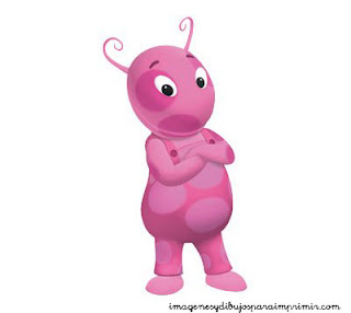 Uniqua de Backyardigans para imprimir