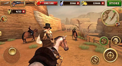 West Gunfighter Mod Apk v1.6 Unlimited Money Terbaru