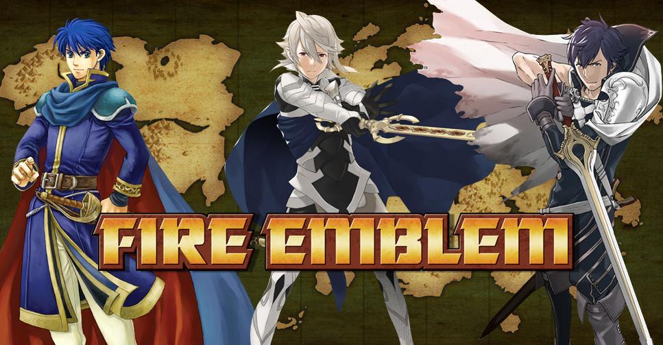 Muitas novidades de Fire Emblem