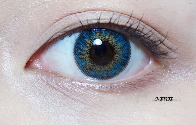 Ashley-S Blue (3 tone) circle lens korean daily wear kbeauty
