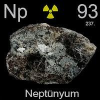 Neptünyum Elementi Simgesi Np