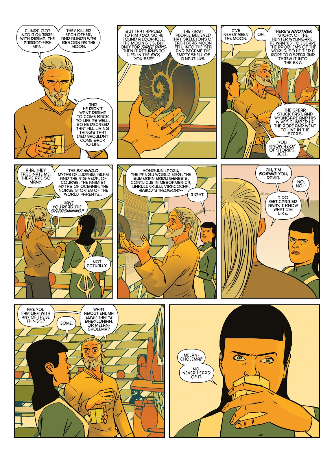 Read online Brink comic -  Issue # TPB 3 - 33