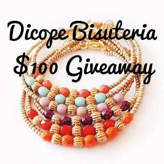 Dicope Bisuteria, giveaway, freebie friday, sweepstakes, handmade jewelry