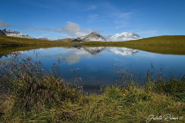 Lac de l'Ouillette à Solaise