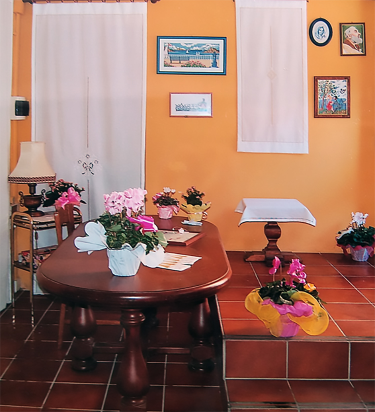 I ricami di Serena Franchi a Grignasco - Novara