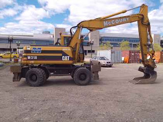 Ryan McCourt McCourt Construction - Wheeled Excavators