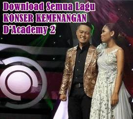 Download semu lagu konser kemenangan D'Academy 2 mp3